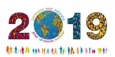 Illustration pour Vœux Solidaires - www.voeux-solidaires.com
