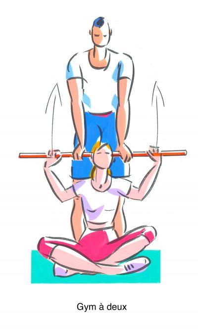 Gym à deux (Top santé)