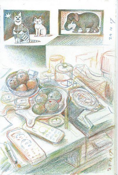 Page de carnet