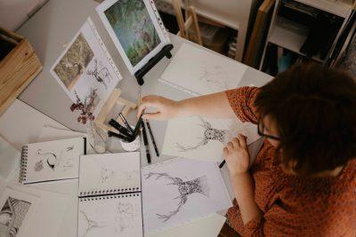 4. atelier d'artiste à Gaillac. Entre Albi et Toulouse