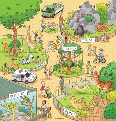 Hachette éducation-Journée au Zoo (français explicite CE1)